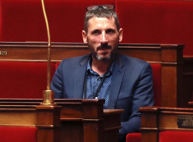 Le député LREM Matthieu Orphelin lors d'une session à l'Assemblée nationale à Paris, le 27 juillet 2017