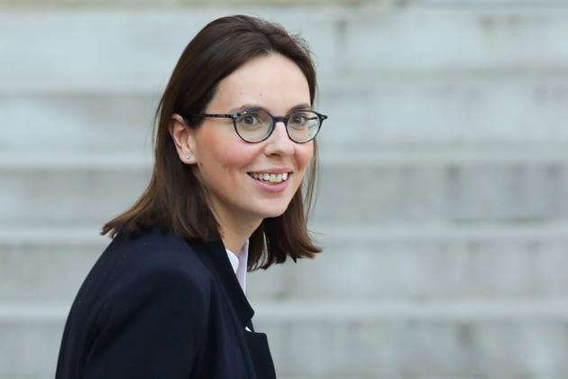 Amélie de Montchalin, secrétaire d'Etat aux Affaires européennes, le 1er avril 2019 à Paris