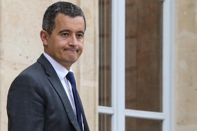 Le ministre des Comptes publics Gérald Darmanin, à l'Elysée, le 12 juin 2018.