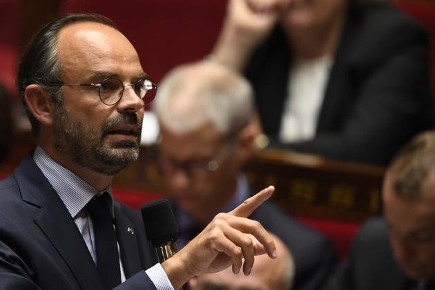 Le Premier ministre Edouard Philippe à l'Assemblée nationales, le 17 octobre 2018 à Paris
