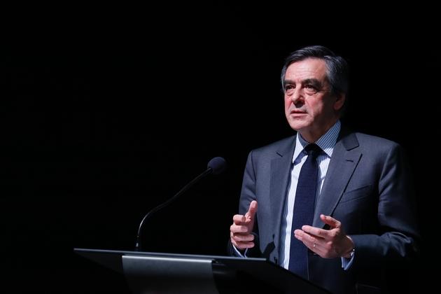François Fillon aux Archives Nationales à Pierrefitte-sur-Seine le 27 janvier 2017