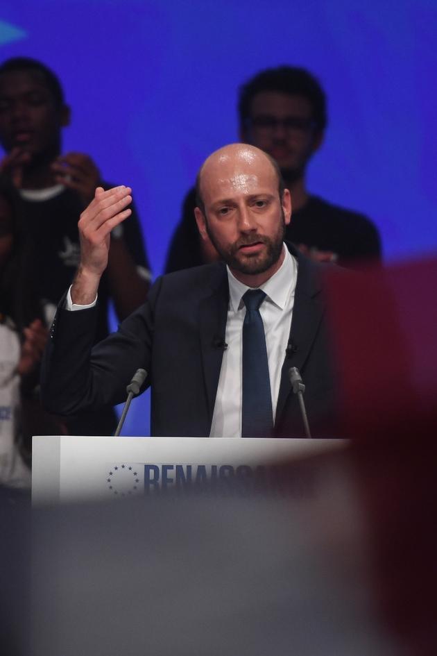 Le délégué général de LREM, Stanislas Guerini, le 24 mai 2019 à Paris