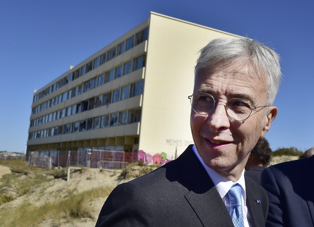 Didier Lallement lorsqu'il était préfet de la Région Nouvelle-Aquitaine, à Soulac-sur-Mer le 25 septembre 2018