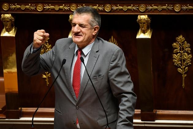 Le député Jean Lassalle à l'Assemblée nationale, le 5 décembre 2018