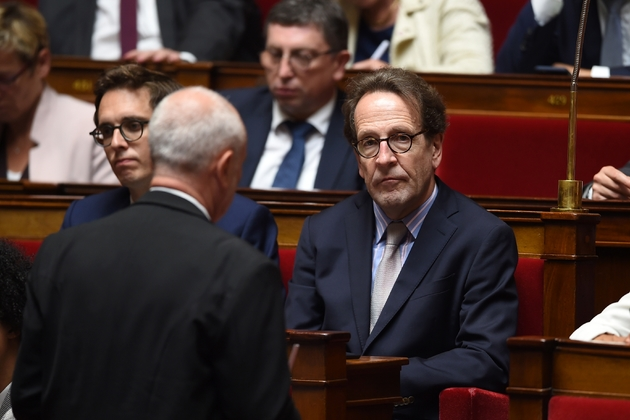 Le chef de file des députés LREM Gilles Le Gendre à l'Assemblée nationale, le 4 juin 2019.