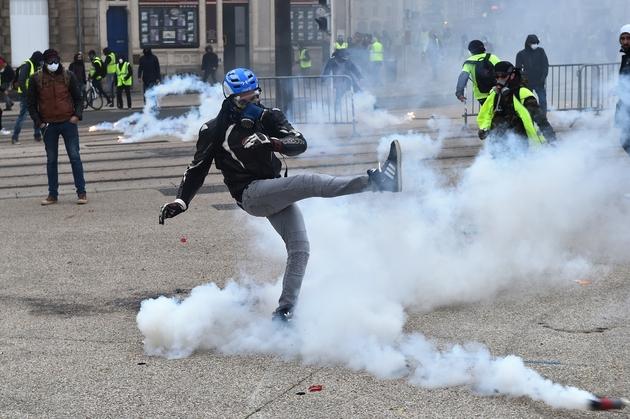 """Manifestation de """"gilets jaunes"""", le 12 janvier 2019 au Mans"""