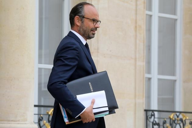 Le Premier ministre Edouard Philippe, le 3 octobre 2018 à l'Elysée, à Paris