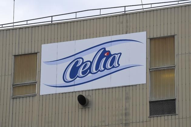 L'usine de lait infantile de la société laitière Celia qui appartient au groupe Lactalis à Craon (ouest), le 4 décembre 2017