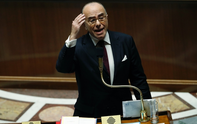 Bernard Cazeneuve le 13 décembre 2016 à l'Assemblée nationale à Paris