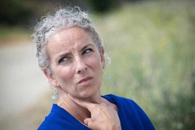 La députée écologiste Delphine Batho à Saint-Brieuc (Côtes d'Armor), le 25 juillet 2019