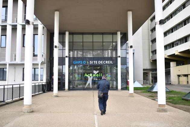 L'hôpital de Creil, dans l'Oise, le 28 février 2020