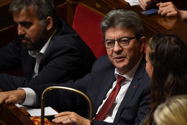 Jean-Luc Mélenchon, le 12 septembre à l'Assemblée nationale