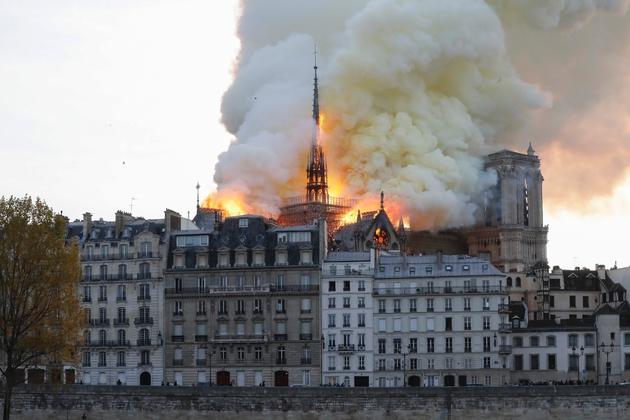 Notre-Dame de Paris en feu, le 15 avril 2019