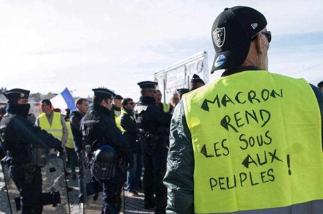 Manifestation de gilets jaunes, le 1er décembre 2018 à Marseille