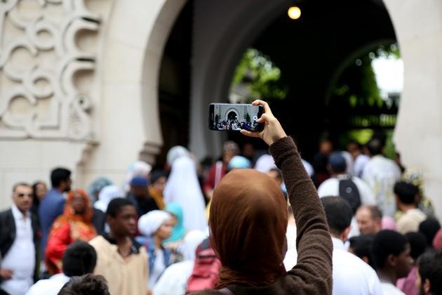La Grande Mosquée de Paris le 21 août 2018
