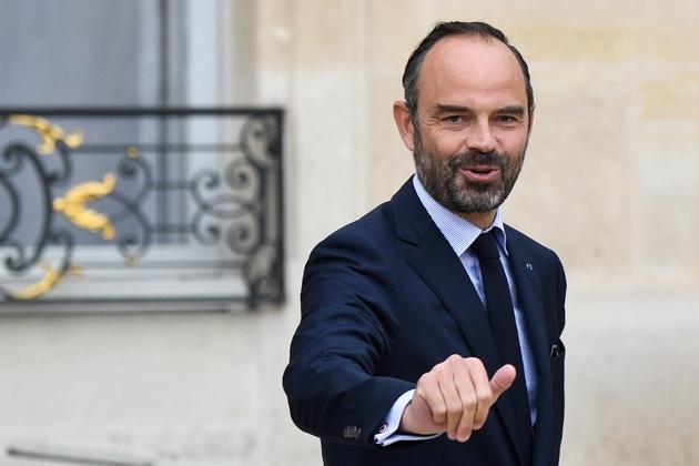 Le Premier ministre Edouard Philippe à la sortie de l'Elysée, le 24 octobre 2018 à Paris