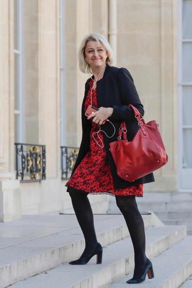 La députée Barbara Pompili (LREM), à Paris, le 29 mars 2019