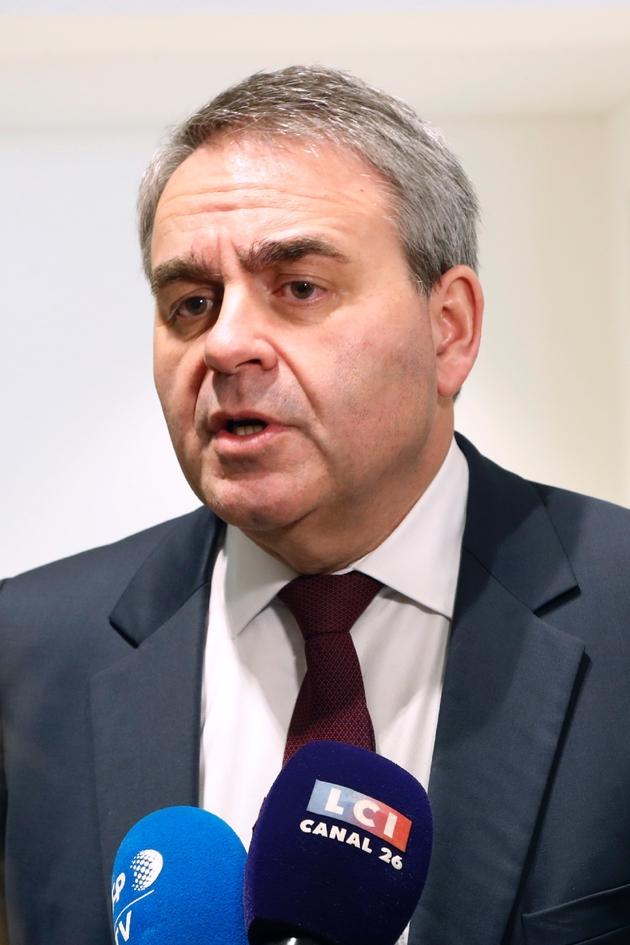 Xavier Bertrand le 5 février 2020 à Paris