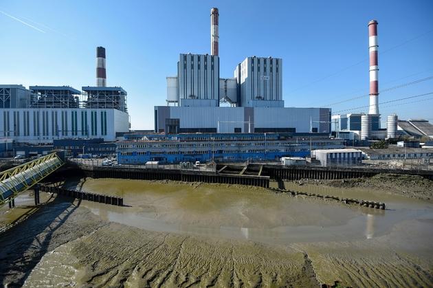 La centrale à charbon de Cordemais, le 21 mars 2019