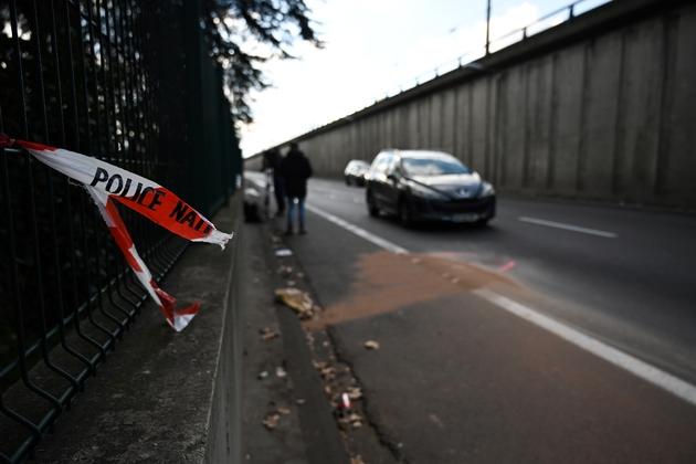 Les lieux où un policier a été volontairement renversé par un fourgon dans la nuit du 10 au 11 janvier 2020 à Bron, près de Lyon