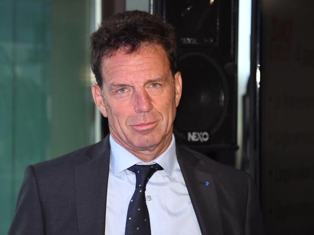 Le patron du Medef Geoffroy Roux de Bezieux, à Paris, le 27 août 2018
