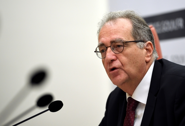 Robert Gelli, Le directeur des affaires criminelles et des grâces, à Paris le 23 novembre 2016