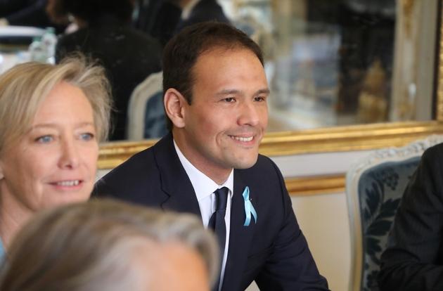 Cédric O lors du conseil des ministres du gouvernement remanié, le 1er avril 2019