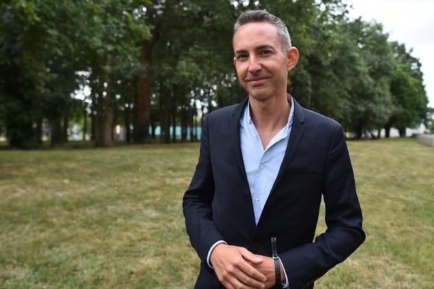 Ian Brossat le 26 août 2018 à Angers, lors des universités d'été du PCF