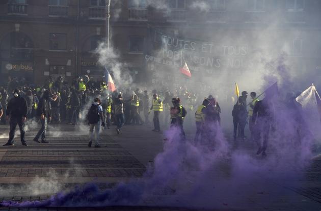 """Rassemblement de """"gilets jaunes"""", le 23 février 2019 à Toulouse"""