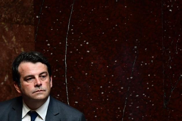 Thierry Solere le 4 juillet 2017 à l'Assemblée nationale à Paris