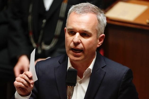Le ministre de la Transition écologique François de Rugy à l'Assemblée nationale à Paris le 26 juin 2019