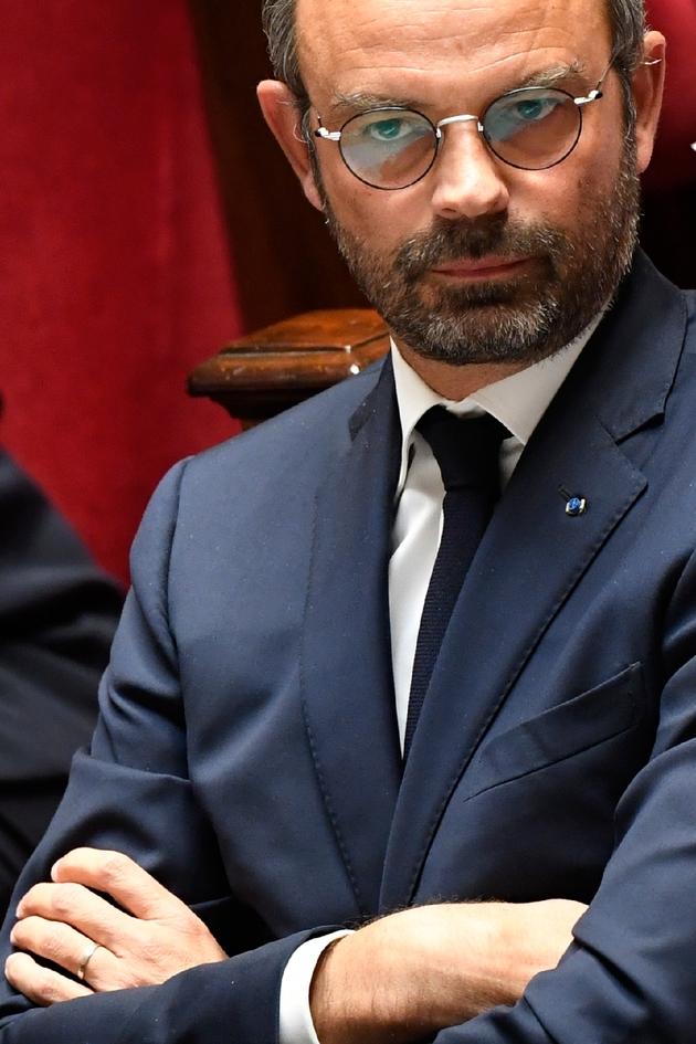 Le Premier ministre Edouard Philippe, à l'Assemblée nationale à Paris, le 9 octobre 2018