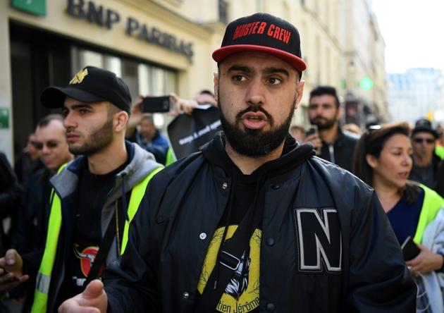 Eric Drouet une figure des Gilets Jaunes le 16 février 2019 à Paris