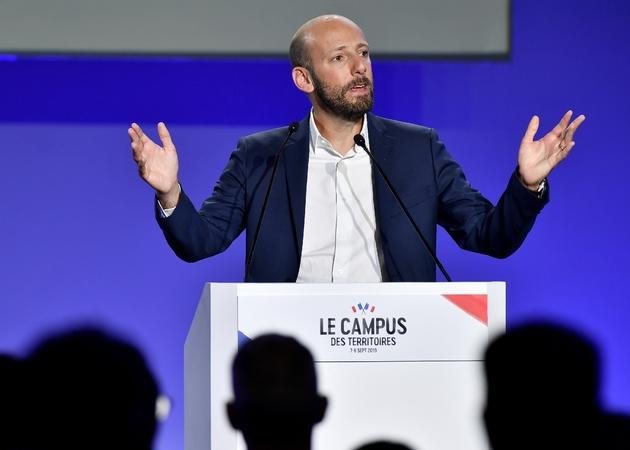Le patron de LREM, Stanislas Guerini, lors du Campus des territoires du parti présidentiel, le 8 septembre 2019 à Bordeaux