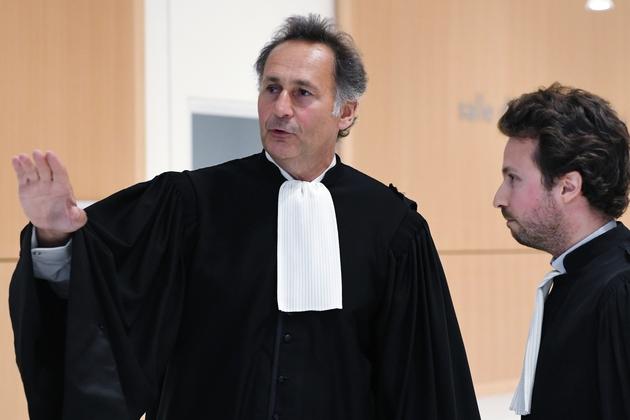 Pierre-Olivier Sur, avocat d'Isabelle Balkany, le 13 mai 2019 à Paris