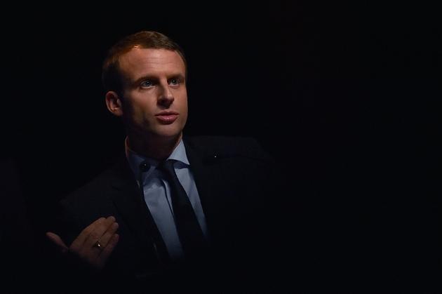 Emmanuel Macron à Pace le 8 décembre 2016