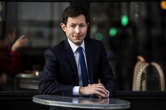 Le philosophe et élu de Versailles François-Xavier Bellamy, choisi pour conduire la liste des Républicains (LR) aux élections européennes, à Paris le 28 janvier 2019