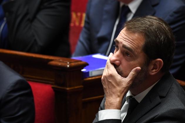Christophe Castaner devant l'Assemblée nationale à Paris le 5 décembre 2018