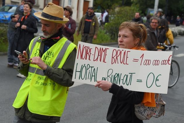 """Manifestation de """"gilets jaunes à Bordeaux, le 27 avril 2019"""