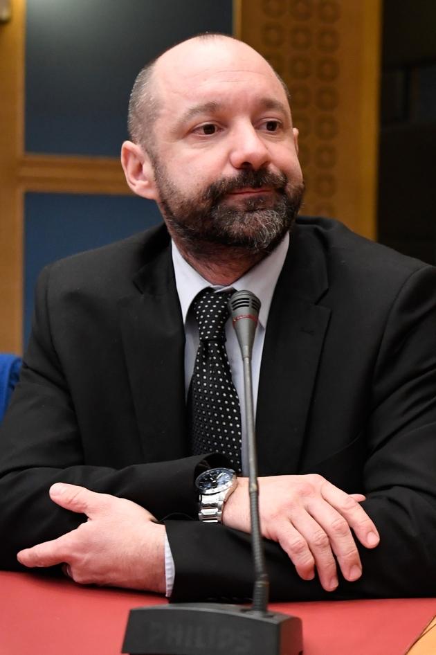 Vincent Crase, ex chargé de la sécurité le 21 janvier 2019