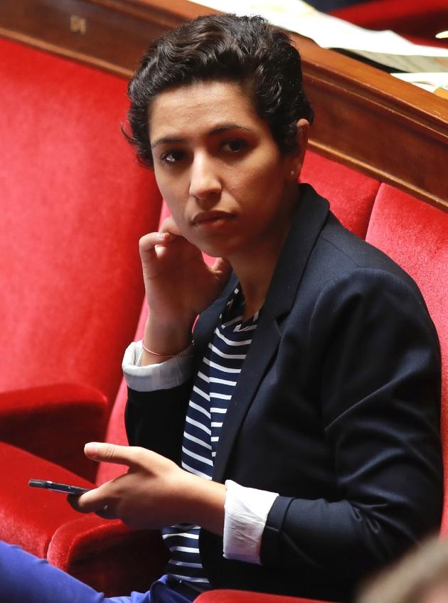 La députée Sarah El Haïry à l'Assemblée nationale en juillet 2017