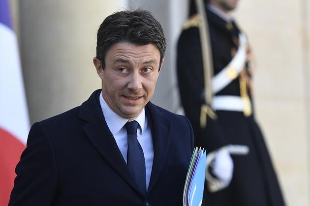 Benjamin Griveaux, le 11 mars 2019 à l'Elysée, à Paris