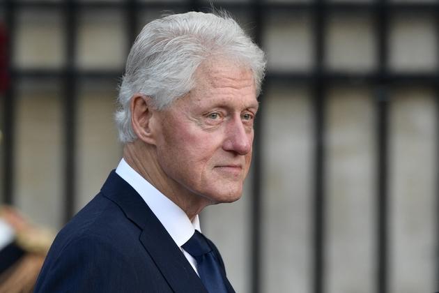 L'ancien président des Etats-Unis Bill Clinton, le 30 septembre 2019 à Paris, à la messe d'hommage à Jacques Chirac