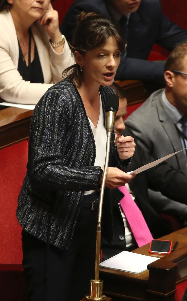 Emilie Bonnivard le 09 août 2017 à l'Assemblée nationale