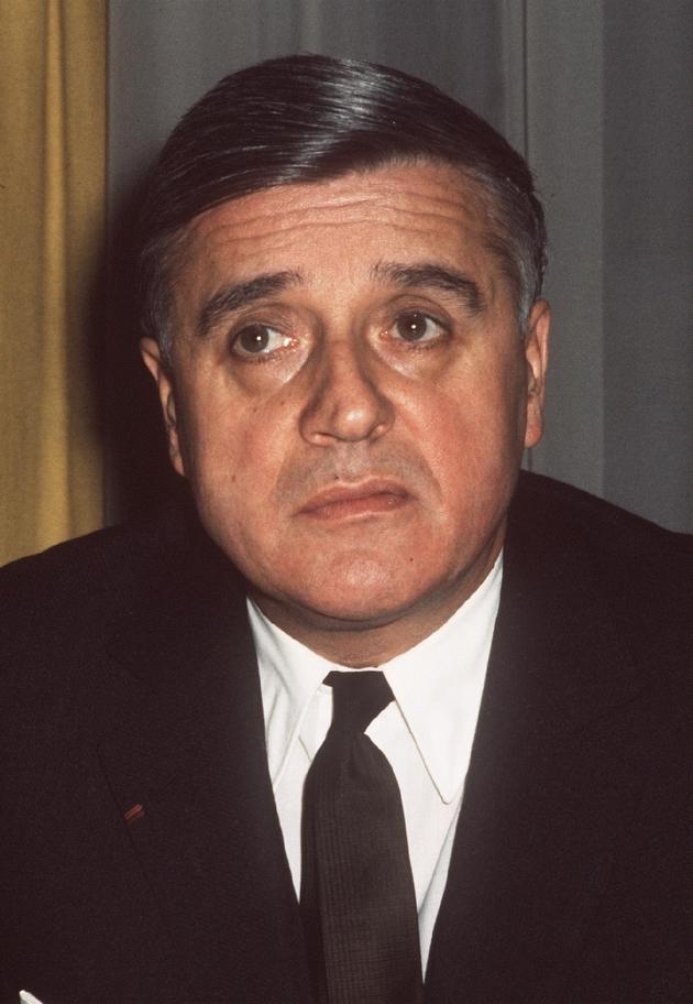 Robert Boulin, le 1er novembre 1961