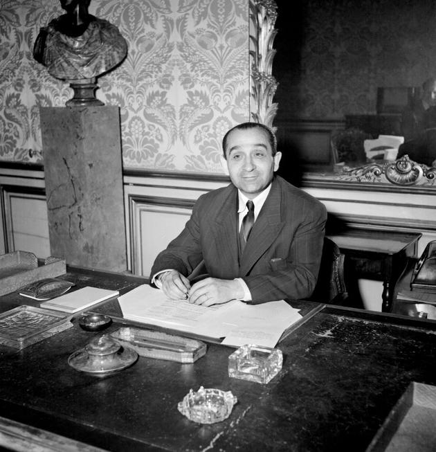 Pierre Mendès France, le 22 juin 1954 à Paris