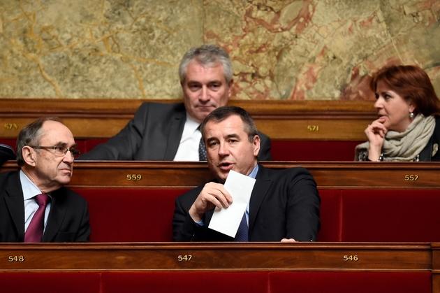 Le député Frédéric Barbier, le 10 février 2015 à l'Assemblée Nationale