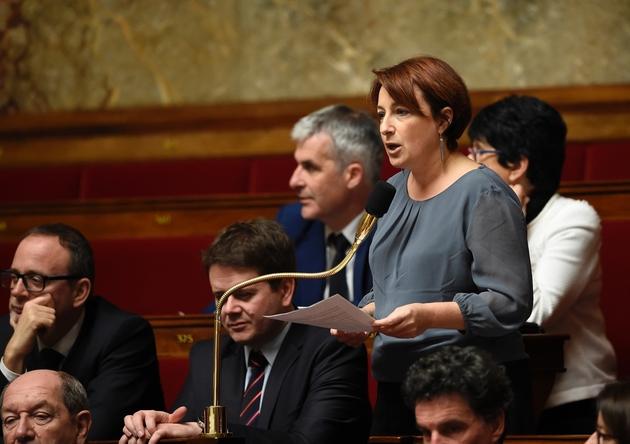 Le député écologiste Denis Baupin a été confronté vendredi à l'une de ses accusatrices, sa collègue parlementaire Isabelle Attard, ici le 20 janvier 2016 à l'Assemblée nationale