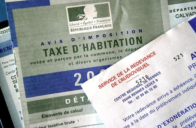 Avis d'imposition de la taxe d'habitation, daté de 2003