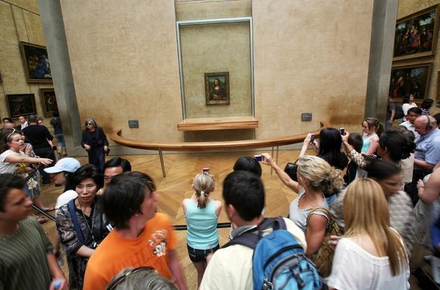 La Joconde de Léonard de Vinci au musée du Louvre à Paris le 17 juin 2009